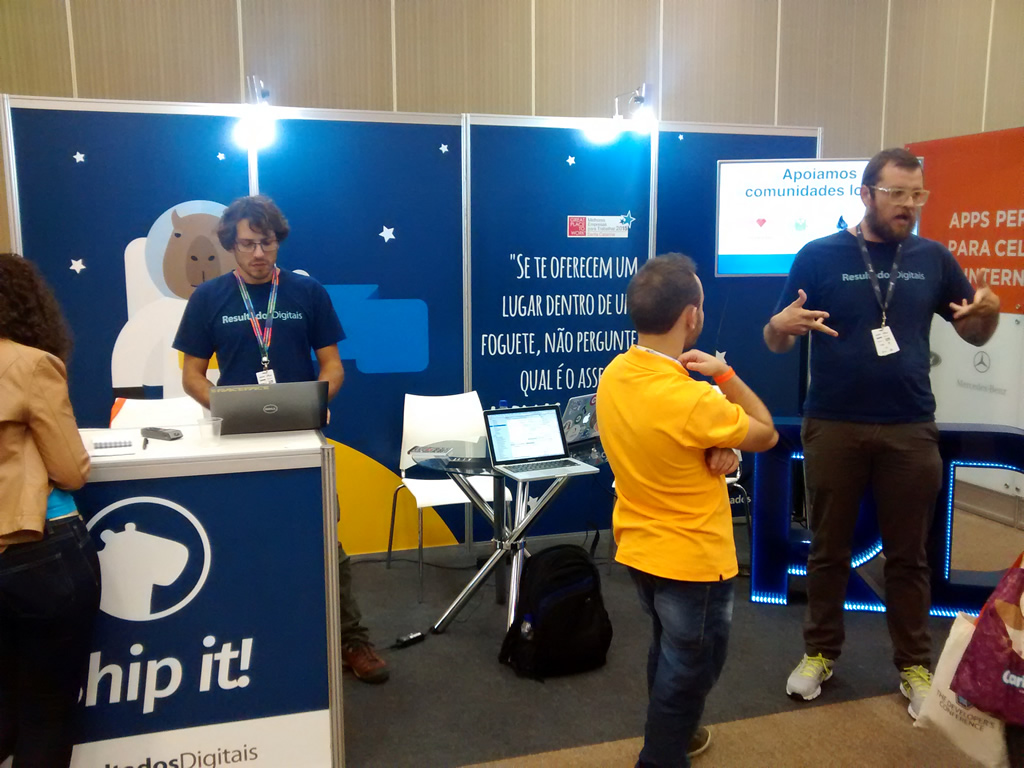 Equipe da DB'links participa do The Developers Conference em Florianópolis - SC
